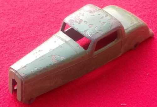 Dinky Toys 36B - Original - Bentley Sports Coupe Green Body
